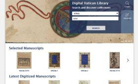 THE VATICAN APOSTOLIC LIBRARYのデジタルアーカイブページ