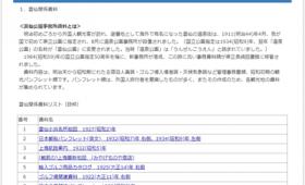長崎県立長崎図書館のデジタルアーカイブページ