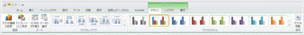 Excelのリボンが表示される